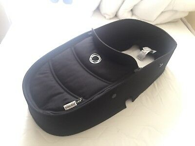 Bugaboo Bee5 Bee 5 Black Tailored Fabric Set Only - For Carrycot Bassinet