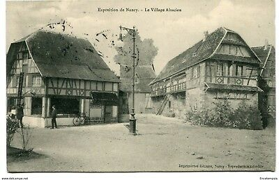 CPA-Carte postale-France  Nancy - Exposition de Nancy - Le Village Alsacien