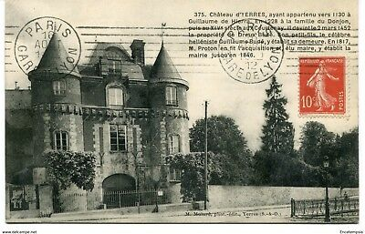 CPA-Carte postale-France  Yerres - Château d'Yerres - 1912 (CP1659)