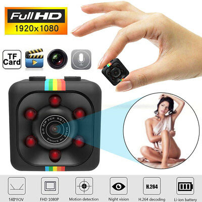SQ11 Full HD 1080P Mini Spy Hidden DV DVR Camera Motion Dash Cam IR Night Vision