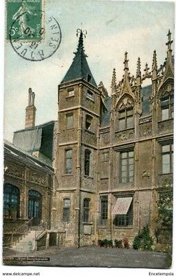 CPA-Carte postale-France - Rouen - Hôtel Bourgtheroulde (CP1673)