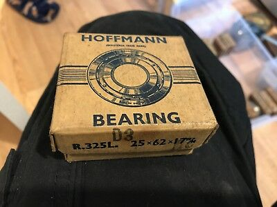 Hoffmann R325L Cylindrical Roller Bearing 25mm X 62mm X 17mm C2 fit