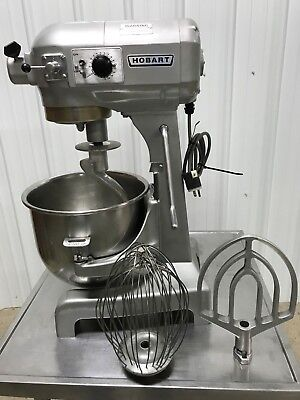 Hobart A-200T 20Qt Mixer, With SS Bowl, Hook, Paddle, Whip Nice!