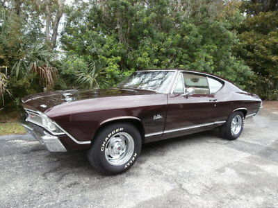 1968 Chevrolet Chevelle Chevelle 1968 Chevrolet Chevelle 396 CID / Maroon/Oyster