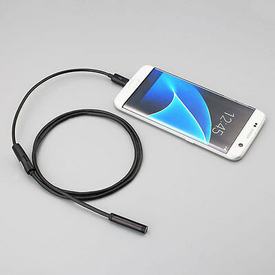 2M 7mm HD 1.3MP PC/Android OTG Phone Endoscope Waterproof Borescope Camera
