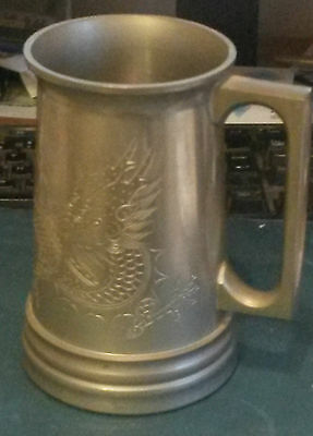 China  -   Huikee  Pewter Tankard..  -  Old...  And Nice