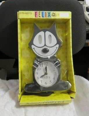 """felix The Cat"", By Njcroce, Animated Wall Clock, China"