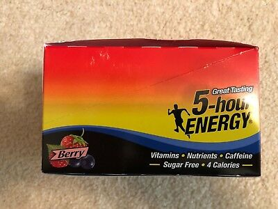 5-Hour Energy Shot  Berry, 1.93 oz  12ct