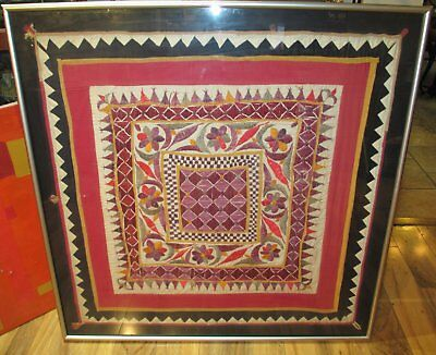 Antique RAJASTHAN  Framed Textile