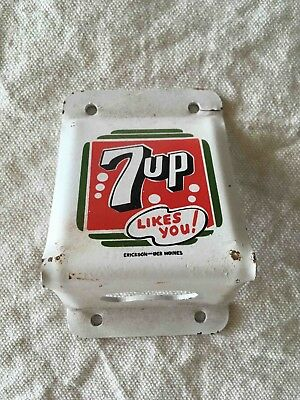 Vintage 7up Seven Up Soda Likes You Wall Mount Advertising Bottle Opener
