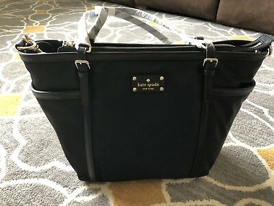 Kate Spade Black Clementine Diaper Bag