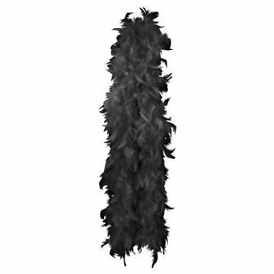Feather Boa 150Cm Black Or Purple Available