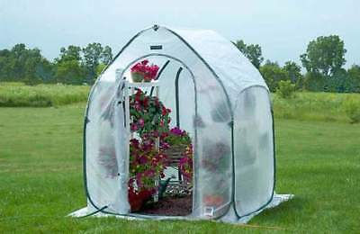 Portable Greenhouse FlowerHouse PlantHouse 5 ft square Pop Up Backyard Garden