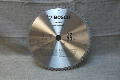 "BOSCH Crosscutting 12"" 60 teeth K511 1"" Arbor MAX RPM 5500/min Saw Blade (bz)"