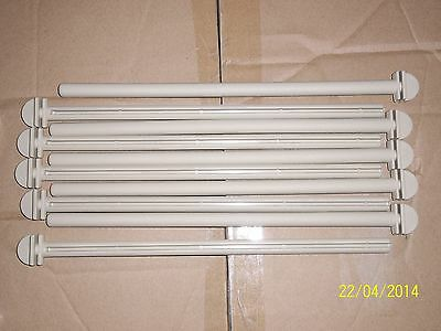 """10 X 12"""" Plastic Polymer Twist On Perches For Cage & Aviary Birds"""