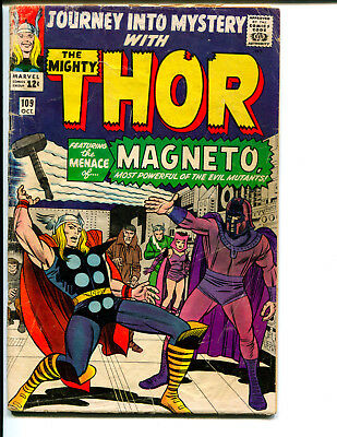 Journey Into Mystery #109 *Featuring Thor, Magneto, & the Brotherhood of Mutants