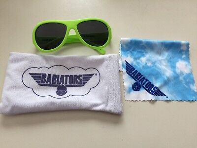 BABIATORS Neon Green ORIGINAL AVIATORS AGES 0-3
