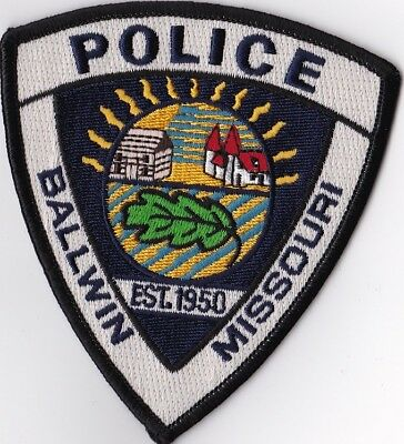 Ballwin Police Patch Missouri MO NEW !!!