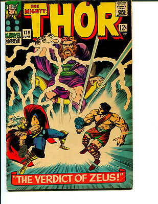 Thor #129 *Featuring Thor, Hurcules, Odin, and Zeus*