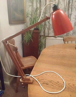 Vintage Original Maclamp by Terence Contain rare clamp style needs bulb holder