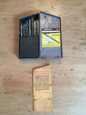 Huot Drill Index Metal Case 1/16 to 1/4 w/Instruction sheet by HUOT St. Paul USA