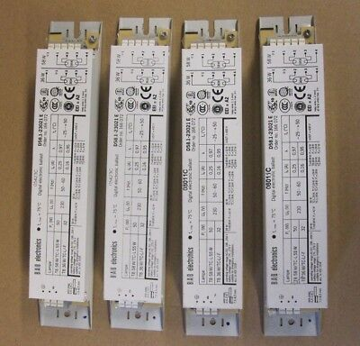 4X Bag B.a.g Electronics Replacement Digital Ballasts Unused See Pics For Rating