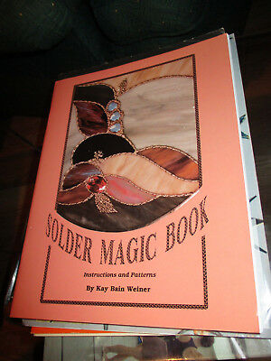 Stained Glass Pattern Book SOLDER MAGIC