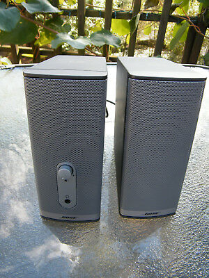 Bose Companion 2 Series II Multimedia Computer Speaker System Sold As Is