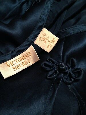 Victoria's Secret Silk 2 Piece Sleep Set Gold Label Sz Small