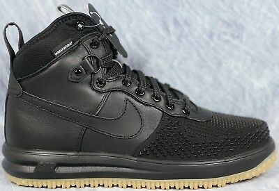 Nike Lunar Force 1 Duckboot Men's Black Boots Sizes 9.5, 10 and 10.5 805899  003
