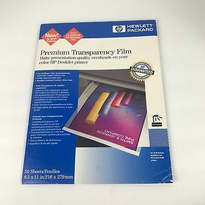 HP Premium Inkjet Transparency Film 16- Sheets C3834A