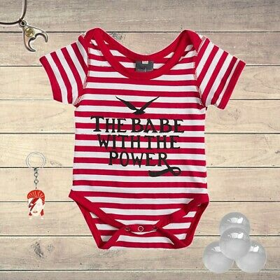 Baby / Toddler Labyrinth David Bowie Romper: The Babe With The Power Magic Dance