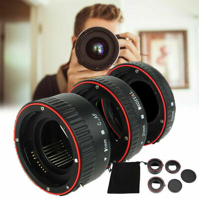 Andoer Macro Auto Focus Automatic Extension Tube Set for o CANON EF & EF-S Lens