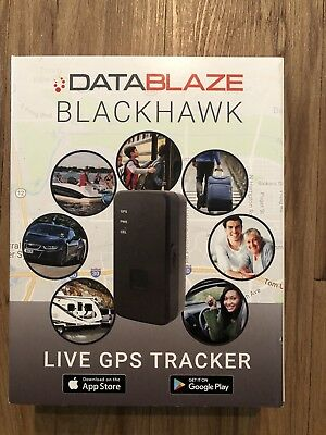 Datablaze Blackhawk Mini Portable Real Time Live Personal & Vehicle GPS Tracker