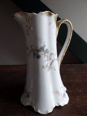 ANCIEN PICHET CARAFE EN PORCELAINE DE LIMOGES H&C L HAVILAND & Co