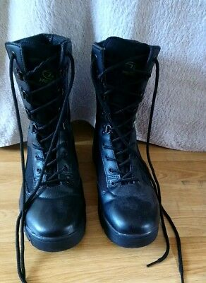 Boots. Black Pro Force Army Cadet Boots / size 7 / Excellent condition