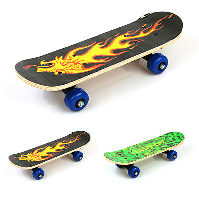 Skateboard Longboard Complete Cruiser Retro Board Deck Wood Skate Board Kid Gift