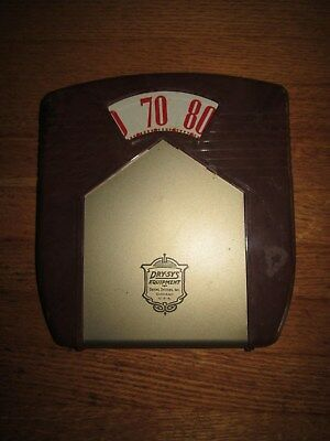 Vintage Dry-Sys Equipment Drying Systems Wall Thermometer Weight Scale Chicago