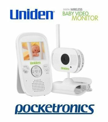 Uniden BW3001 Wireless Baby Video Audio Monitor Walkie Talkie mic BRAND NEW