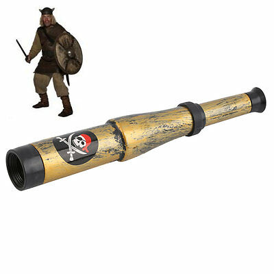 W~Pirate Captain Costume Toy Nautical Telescope Halloween Party Kids GiftW