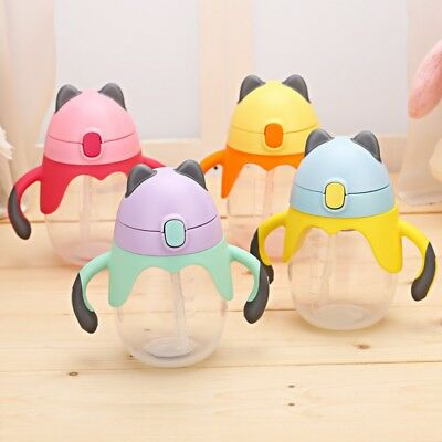 250ml Baby Toddler PP Milk Drinking Bottle Feeding Nursing Sippy Cup With Handle