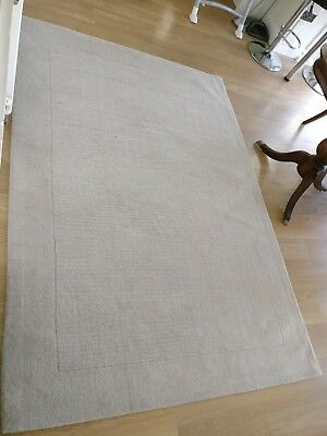 John Lewis Perth Rug Cream 2 3 1 6m 100 Wool Rrp 160