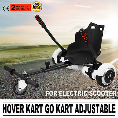 Hoverseat Hoverkart Sitz für Hoverboard E-Scooter Kart Equipment Self Balance