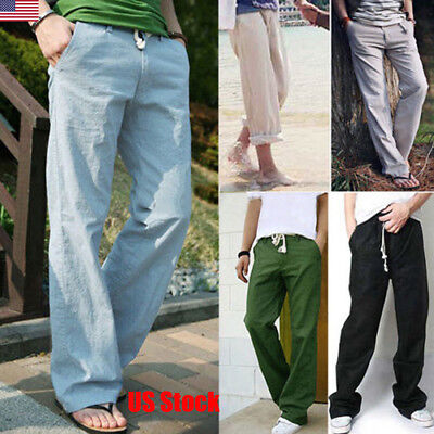 Top Loose Fit Summer Trousers Cargo Combat Stylish lightweight Casual Pants New