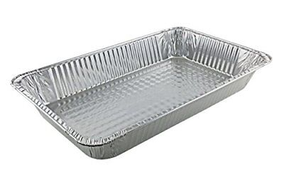 Full Size Disposable Aluminum Foil Steam Table Pan Takeout Lasagna Tray 15, 11 X