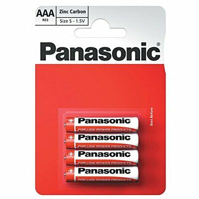 Panasonic Ultra Power Zinc Carbon Aaa Batteries 1.5V