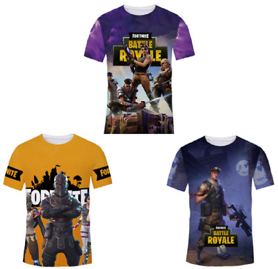 New 3D T-Shirt Fortnite Best Video Game Men Women Print Fashion Cool Funny Tee