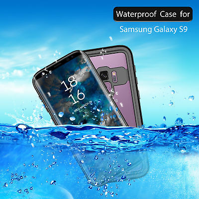 Waterproof Dust/ Shockproof Protection Armor Case Cover For Samsung Galaxy S9 +