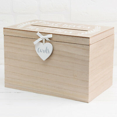 Love Story Card Box Best Wishes For The Mr & Mrs ~ Wedding Reception Accessories