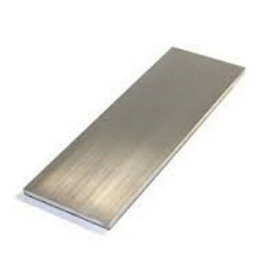 Aluminium Flat Bar - Various Sizes x 300mm long - Grade 6060-T5 / 6061-T6